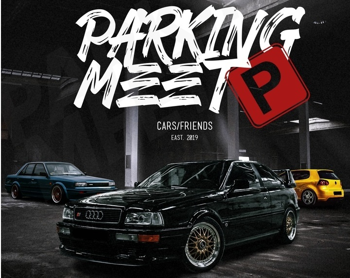 Parking Meet by Gold Club