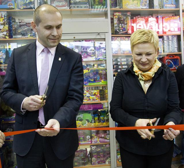 Открытие магазина Curver