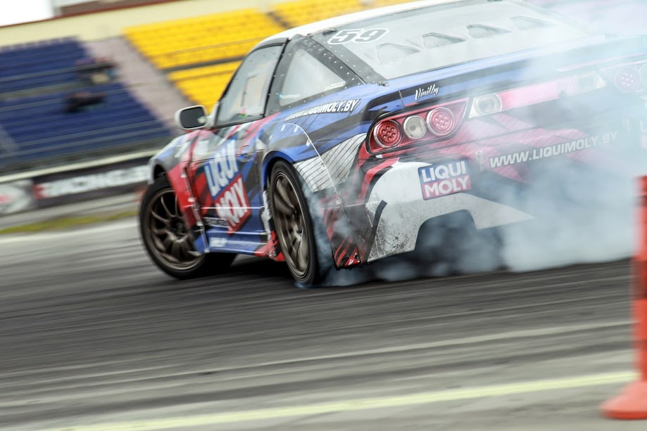 Drift car Liqui Moly